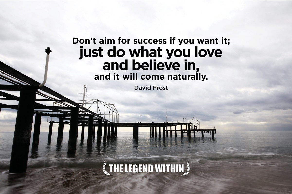 David Frost Quote - Success
