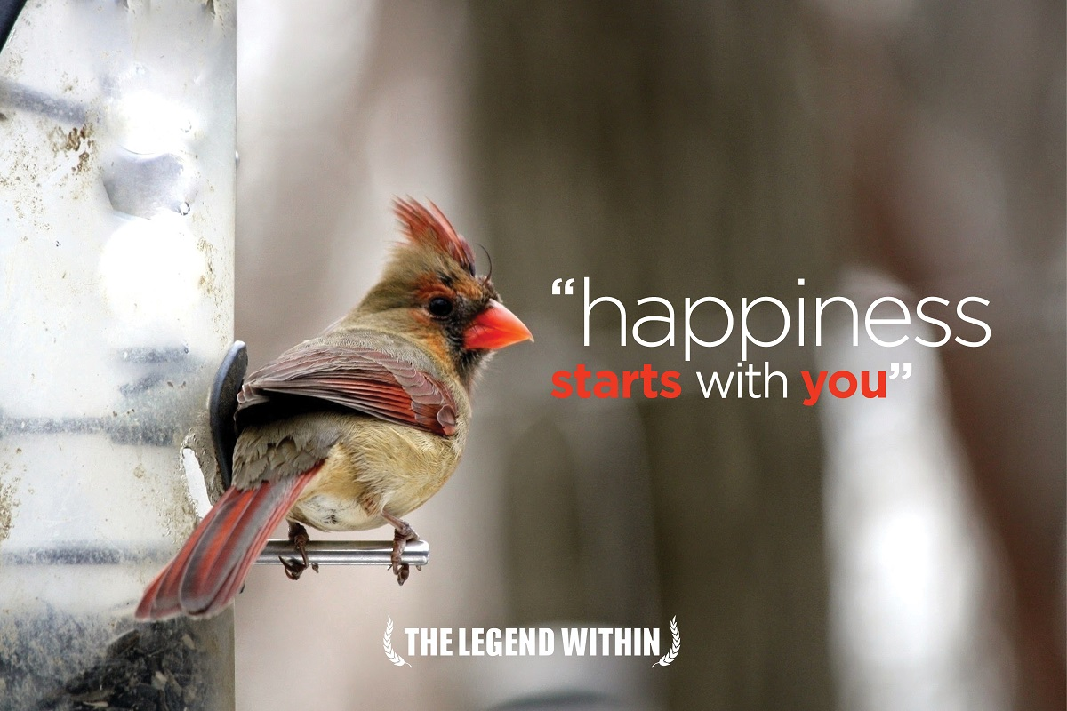 Life Lesson - Happiness Starts with You